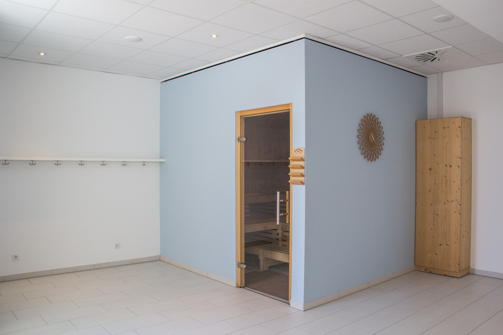 Citylife Wellnessbereich Sauna