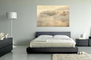 Rio Bild Christus Wolken
